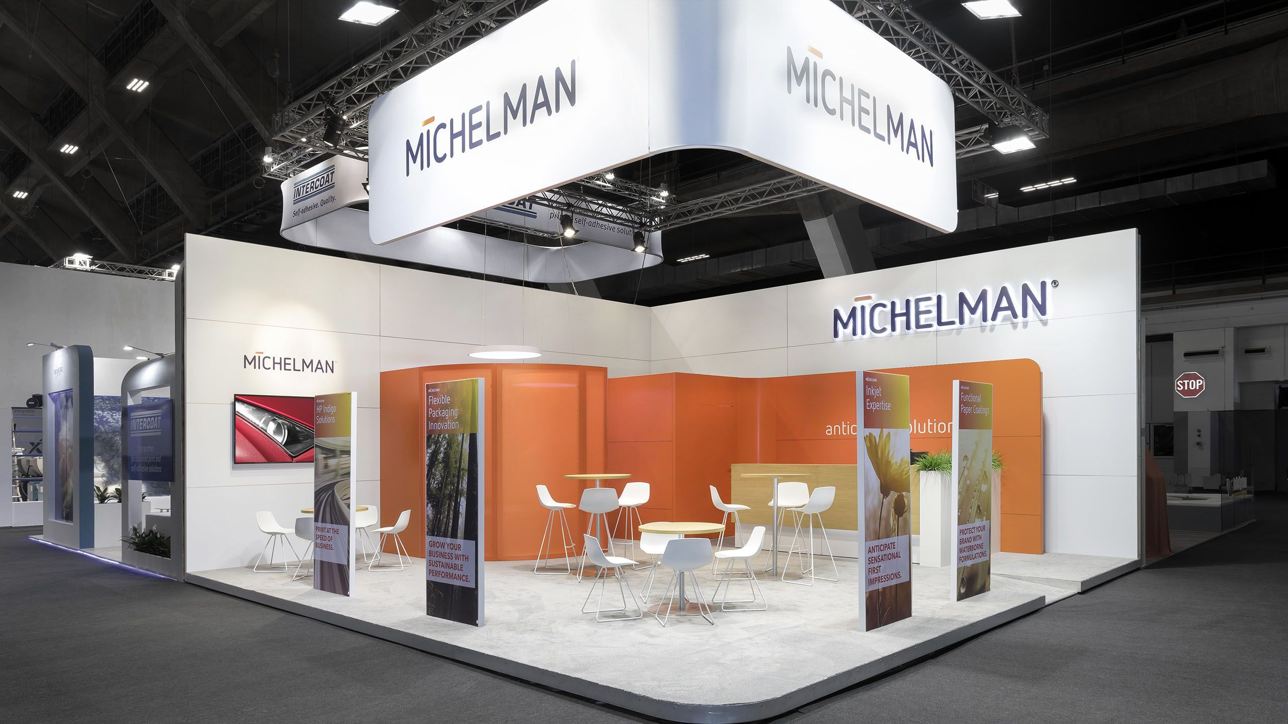Modern Exhibition Stand Near Me : Flexible exhibition stands to rent messerli