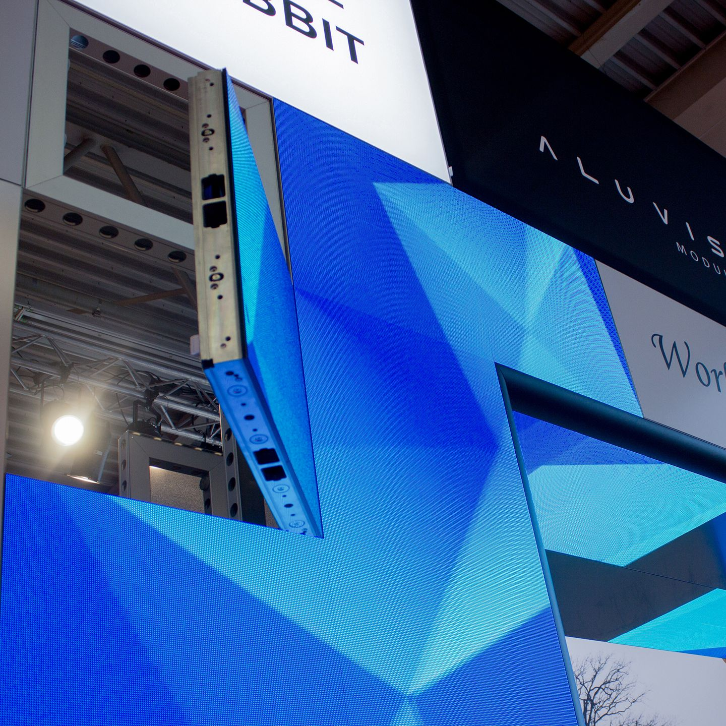 Flexible Exhibition Stands : Flexible exhibition stands to rent messerli